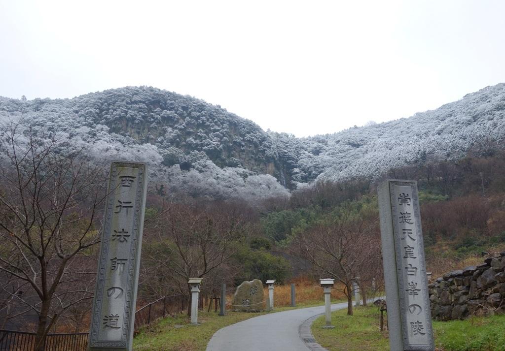 歩いて5分で青海神社。季節の移り変わりを感じます