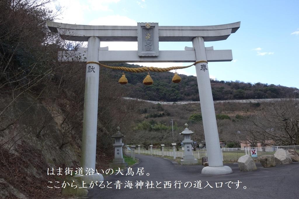近くに青海神社